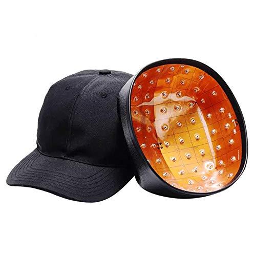 JIN GUI Baseball Crescita per Capelli, Sistema di ricrescita dei peli Dispositivo terapeutico Copertura Completa della Testa 30