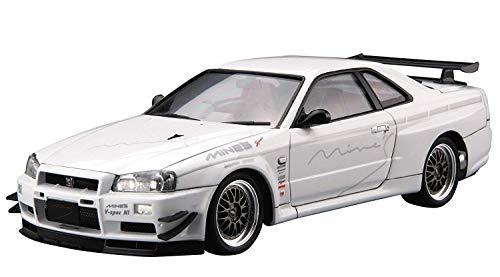 青島文化教材社 1/24 ザ・チューンドカーシリーズ No.34 ニッサン マインズ BNR34スカイラインGT-R 2002 プラモデル