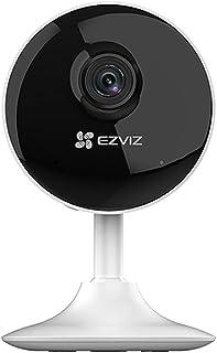 كاميرا المراقبة الداخلية من ايزيفيس، مراقبة الاطفال 1080 بي وWiFi، كشف الحركة الذكي، صوت ثنائي الاتجاهات، رؤية ليلية بطول ...