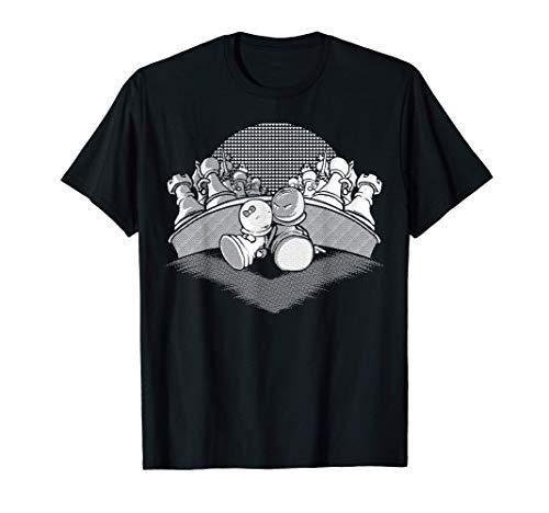 Lustiges Schachfiguren & Schachspiel Schachspieler Geschenke T-Shirt