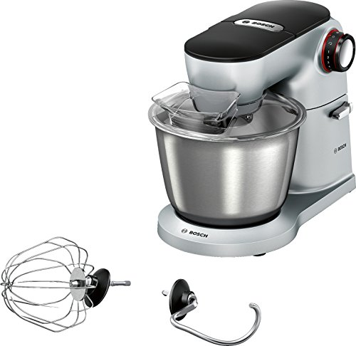 Bosch Préparation culinario–Kitchen Machine, color plateado, 1200
