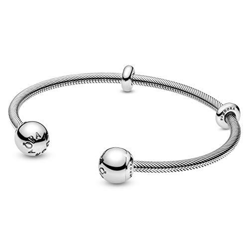 Pandora Damen-Armreif Moments Snake Chain Style 598291-1 16 cm