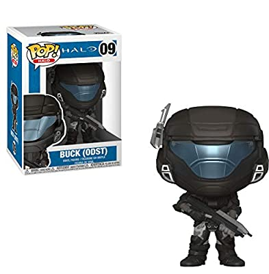Funko 30100 ODST Buck (Helmeted) POP Vinyl Halo S1, Multi, Standard