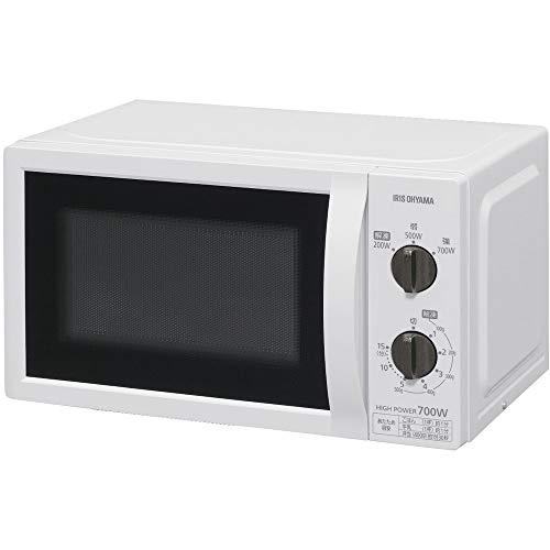 アイリスオーヤマ 電子レンジ 17L ターンテーブル 単機能 出力3段階 【西日本/60Hz】 ホワイト IMB-T176-6