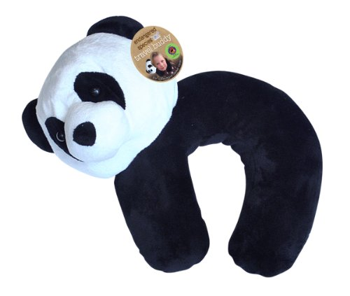Endangered Species by Sud Smart Pillow and Blanket Travel Buddy, Panda