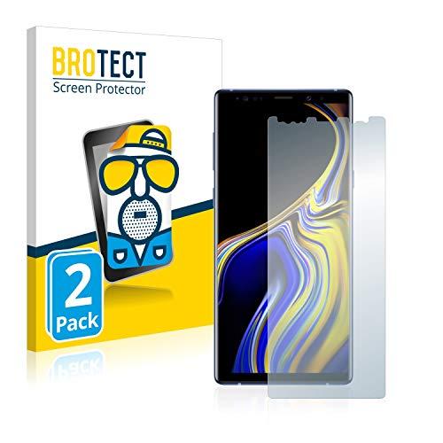 brotect Pellicola Protettiva Opaca Compatibile con Samsung Galaxy Note 9 Pellicola Protettiva Anti-Riflesso (2 Pezzi)