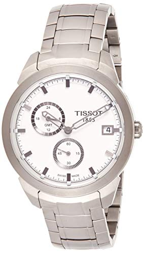 Tissot Men's TIST0694394403100 Titanium GMT Watch