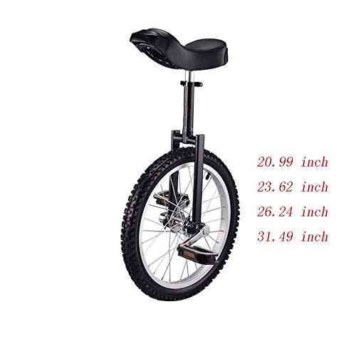 Great Deal! Seaweed with Alloy Wheel Unicycle 20 Inch-Silver Wheels (Size : 23.62inch)