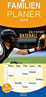 Kultsport Baseball - Familienplaner hoch (Wandkalender 2022 , 21 cm x 45 cm, hoch): Packende Szenen vom Baseballfeld (Monatskalender, 14 Seiten )