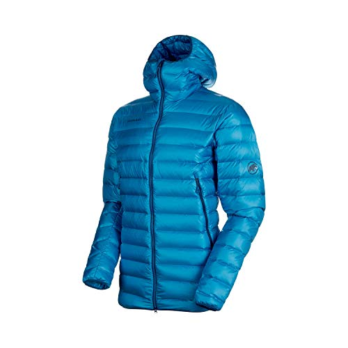 Mammut Herren Chaqueta Broad Peak Pro In Hooded Hombre Jacket, Saphir, L