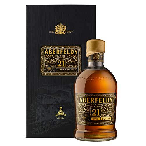 Aberfeldy Whisky 21 ans Single Malt Whisky, Ecosse, 70cl, 40%