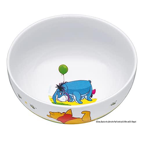 WMF Disney Winnie Pooh Kindergeschirr Kinder-Müslischale 13,8 cm, Porzellan, spülmaschinengeeignet, farb- & lebensmittelecht