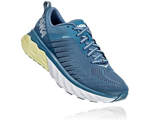 Hoka One Women's Arahi 3 Running Shoes, Aegean Blue Plein Air, 6 B(M) US Women