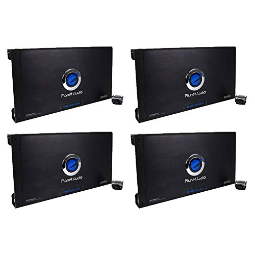 Find Bargain Planet Audio 2600W 2-Channel Car Amplifier Amp AC26002 & Remote (4 Pack)