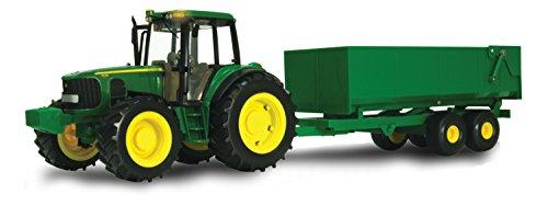 TOMY John Deere Big Farm Tractor with Wagon