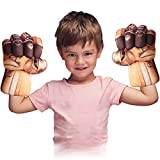 Toydaze Incredible Smash Fists Punching Gloves Plush Hands...