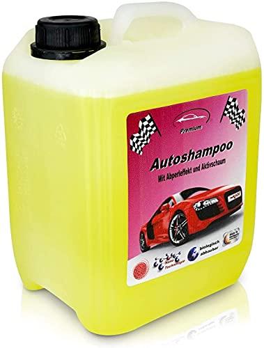 RedFOX24 Premium Autoshampoo Konzentrat - Schaumreiniger - Verdeck Reiniger - car Shampoo - in einem 10 Liter Kanister mit Abfüllhahn erhältlich - Made in Germany