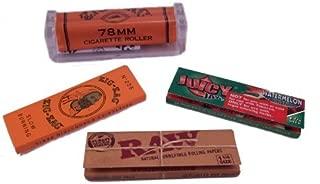 Zig Zags, Raw Rolling Papers, Watermelon Juicy Jay's & 78mm Roller