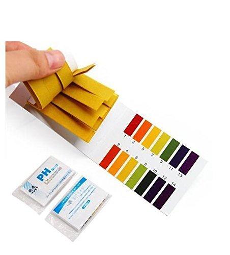 160pcs von pH-Messbereich 1–14Indikator Litmus Test Klebestreifen, ideal für Testen viele Gemeinsame Tägliche Stoffe