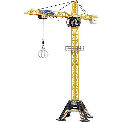 Dickie Toys Elektro Construction Mega Kran RC Einsteiger Funktionsmodell Baufahrzeug