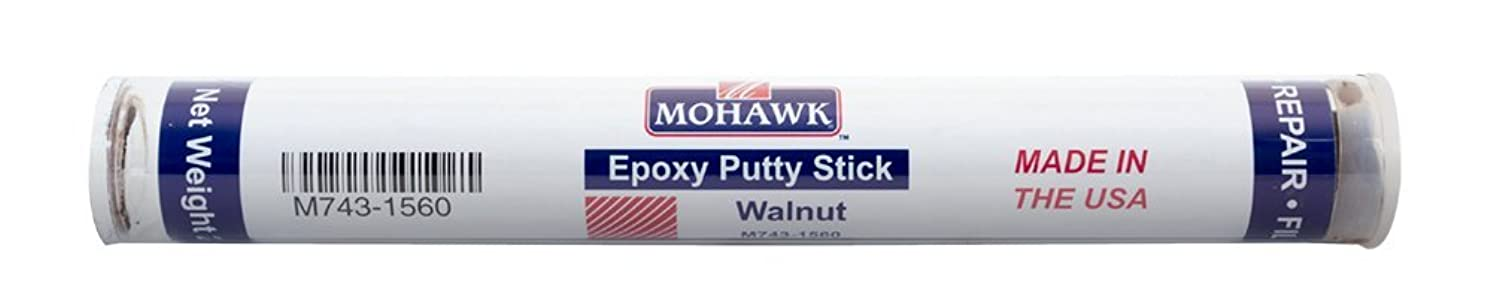 Mohawk Epoxy Putty Stick (Walnut) for Permanently Repairing Wood and Other Hard Surfaces