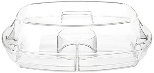 Prodyne SB-5 Flip-Lid Appetizers On Ice, 15', Clear