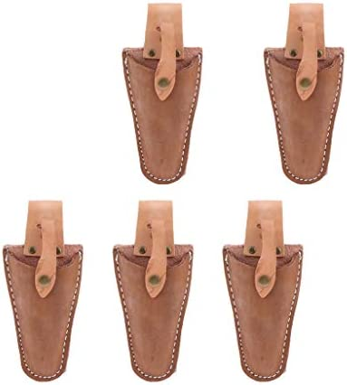 Baoblaze 5 Piece Pruner Pruning Shears Hanging Pouch Sheath Holder Bag For Garden product image