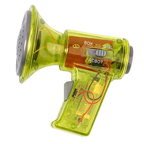 DYNWAVE Mini Voice Changer Megaphone Toy Child - Yellow