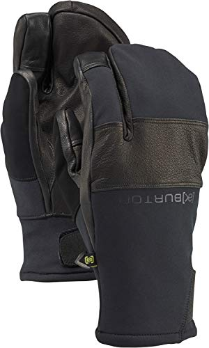 Burton Mens Ak Gore-Tex Clutch Mitten, True Black, Large