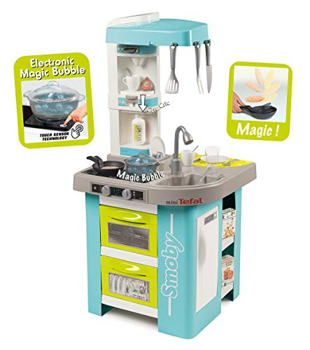 Smoby - 311034 - Tefal Cuisine French Cooking - Module Electronique - + 26 Accessoires