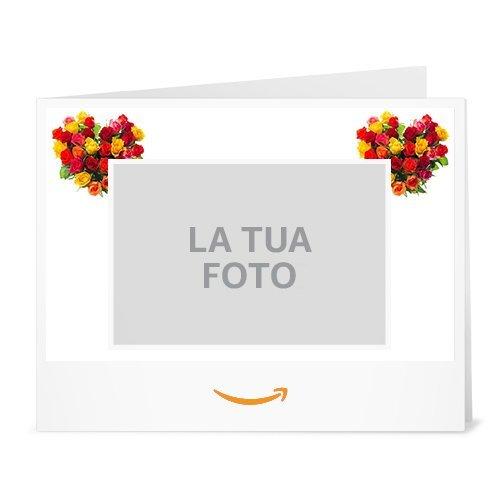 Buono Regalo Amazon.it - Stampa - Carica una foto - San Valentino