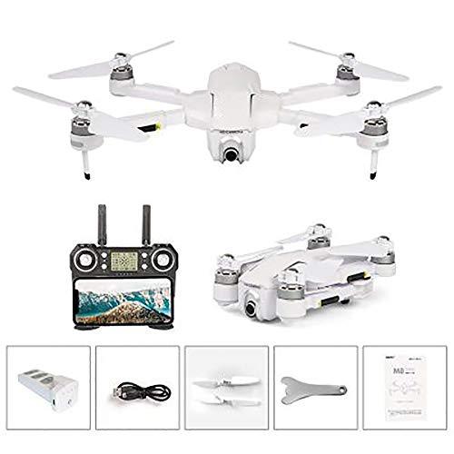 XXF WiFi FPV Drone, Potensic GPS Drone Mit 4K HD-Kamera FPV Einstellbare Weitwinkelkamera Drone Und GPS-Smart-Return to Home Quadcopter,Weiß