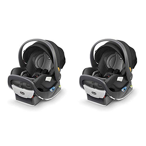 Chicco Fit2 Infant and Toddler Rear Facing Convertible Car Seat, Tempo (2 Pack)