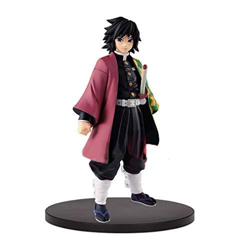 Preventa Original Banpresto Kimetsu No Yaiba Figura Demon Slayer Giyu Tomioka Juguetes Modelo Figurals Brinquedos 15 Cm