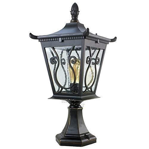 Europese Outdoor Hek Pijler Lichten Balkon Deur Post Lantaarn Lichten Tuin Binnenplaats Terras Kolom Lamp Waterdicht IP44 Wandlamp