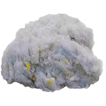 2000 Gramm Weiche Bastelwatte Stopfwatte Füllmaterial Kissen Stofftiere NEU
