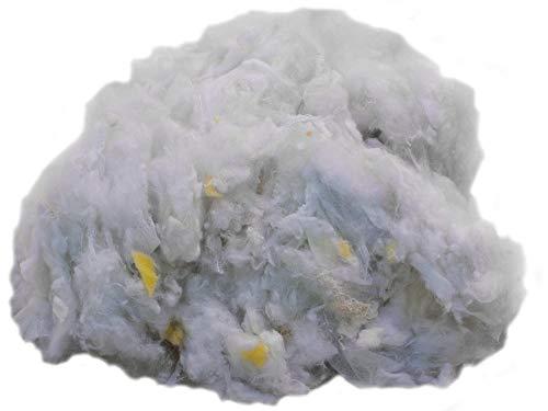 Primaflor - Ideen in Textil 5 kg Füllmaterial Polyesterfasergemisch Watte Kissenfüllung Bastelwatte, Waschbar, Allergikergeeignet, Füllwatte, Füllung für Kissen, Sitzsäcke und Stofftiere