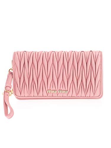 Miu Miu Luxury Fashion Damen 5DH029N88F0028 Rosa Leder Pouch | Frühling Sommer 20