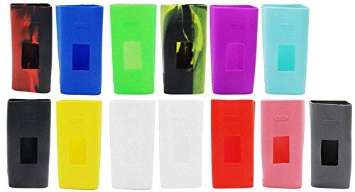Schutzhülle für Joyetech Cuboid 150W Silikon Silikonhülle Case Silicone Bumber Cover (Rosa)