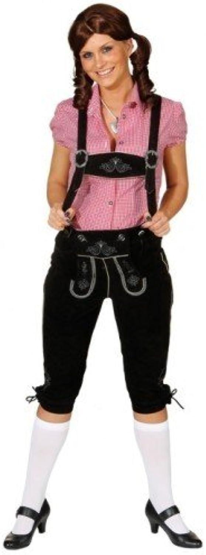 perfecto Baviera-partido Baviera-partido Baviera-partido Lederhose negro tamaño 48 pantalones de traje de cuero genuino Sepplhose pantalones de mujer  Ven a elegir tu propio estilo deportivo.
