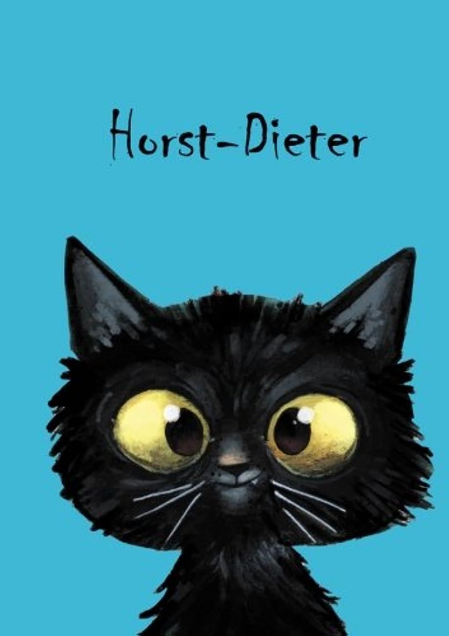 中古あたり固体Horst-Dieter: Personalisiertes Notizbuch, DIN A5, 80 blanko Seiten mit kleiner Katze auf jeder rechten unteren Seite. Durch Vornamen auf dem Cover, eine schoene kleine Aufmerksamkeit fuer Katzenfreunde. Mattes, handschmeichelndes Coverfinish. Ueber 2500 Namen bereits verf