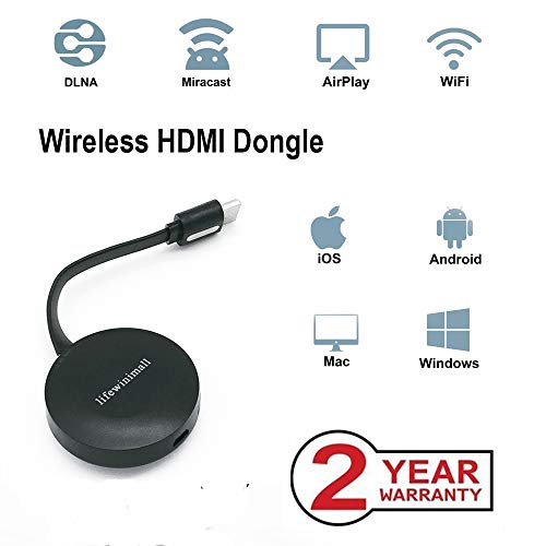 Find Bargain lifewinimall Mirascreen G2 Wireless WiFi Display Dongle, HDMI 1080P TV Converter Adapte...