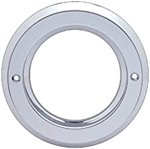 United Pacific (10) Round Chrome Bezels/Covers 2.5
