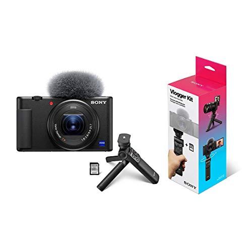Sony ZV-1 Compact 4K HD Camera ACCVC1 Vlogger...
