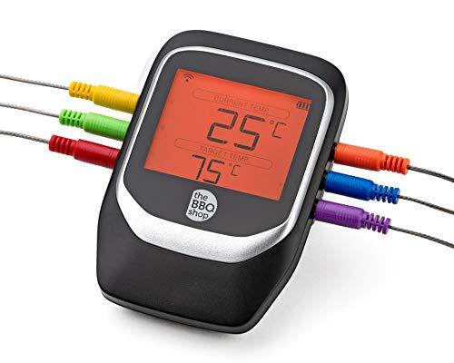 Bluetooth® Grillthermometer TBS1 via Smartphone-App steuerbar
