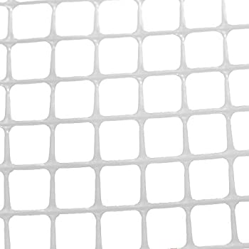 Cardinal Gates Heavy-Duty Outdoor Deck Netting Translucent white  15