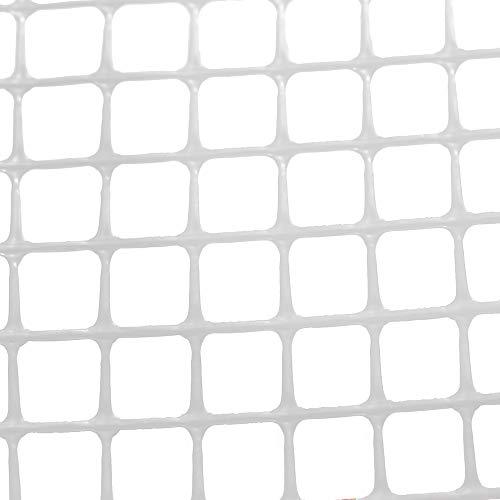 Cardinal Gates HeavyDuty Outdoor Deck Netting Translucent white   15#039