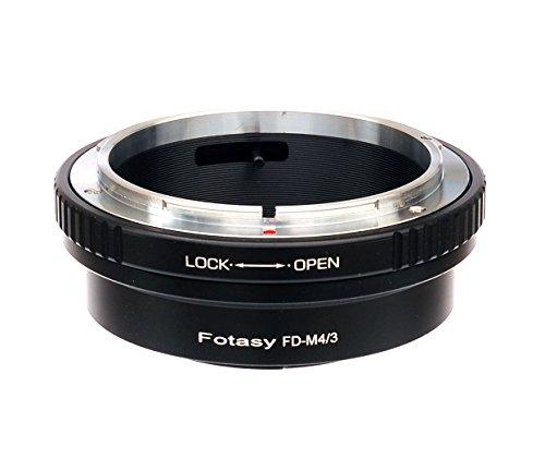 Fotasy Canon FD Lens to M4/3 Adapter, FD MFT Mount Adaptor, fits Olympus E-PL8 E-PL9 E-M1 E-M5 E-M10 I II III E-PM2 E-PM1 Pen-F E-M1X Panasonic G7 G9 GF8 GH5 GX7 GX8 GX9 GX85 GX80 GX850 G90 G91 G95