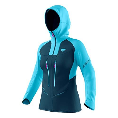DYNAFIT W TLT Gore-Tex Jacket Blau, Damen Gore-Tex Windbreaker, Größe M - Farbe Silvretta