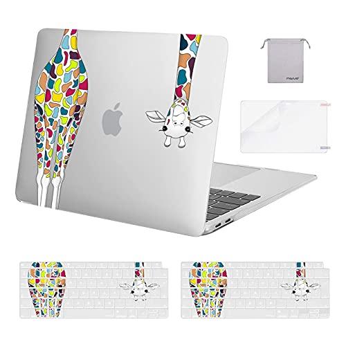 MOSISO Funda Compatible con MacBook Air 13 pulgadas 2020-2018 A2337 M1 A2179...